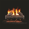 Real Fyre Golden Oak  24-in Gas Log with Burner Kit Options