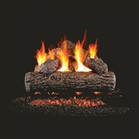 Real Fyre Golden Oak 30-in Gas Log with Burner Kit Options
