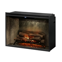 "Dimplex Revillusion Weathered Concrete 36"" Built-In Electric Firebox (RBF36WC)"