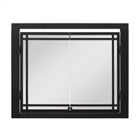 "Dimplex 36"" Revillusion Double Glass Door"