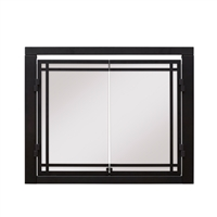 "Dimplex 36"" Portrait Revillusion Double Glass Door"