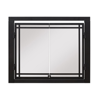 "Dimplex 42"" Revillusion Double Glass Door"