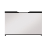 "Dimplex 36"" Revillusion Portrait Solid Glass Front"