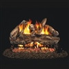 Real Fyre Red Oak 18-in Gas Logs with Burner Kit Options