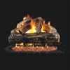 Real Fyre Split Oak 30-in Gas Logs With Burner Kit Options