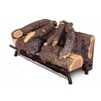 "Modern Flames 20"" Sunset Charred Oak Electric Log Set"