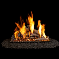 Real Fyre Shoreline Designer Oak 24-in Gas Logs Only