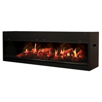 Dimplex Opti-V Duet Built-In Electric Fireplace