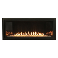 "Empire Boulevard 36"" Linear Vent Free Gas Fireplace, Millivolt"