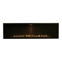 "Empire Boulevard 48"" Linear Vent Free Gas Fireplace, Millivolt"