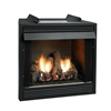 Empire Jefferson Vent-Free Firebox, Premium 42 Circulating Flush Front