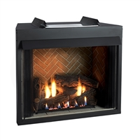 Empire Jefferson Vent-Free Firebox, Select 36 Circulating Flush Front