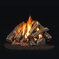 Real Fyre Western Campfyre 30-in Gas Logs with Burner Kit Options