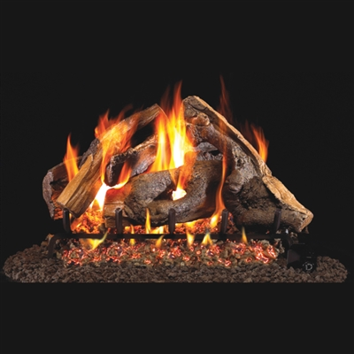 Real Fyre Woodstack 30-in Gas Logs Only