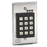 Linear 212i Indoor Flush-mount Keypad