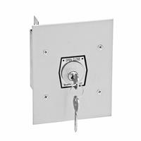 1KF NEMA 1 Interior Tamperproof OPEN-CLOSE Key Switch Flush Mount