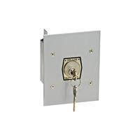1KFX Exterior Tamperproof OPEN-CLOSE Key Switch Flush Mount