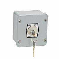 1KXL NEMA 4 Exterior ON-OFF Key Switch Surface Mount