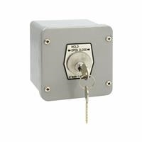 1KXL-O NEMA 4 Exterior HOLD OPEN-CLOSE Key Switch Surface Mount