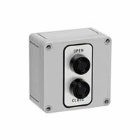 2B4X NEMA 4X Exterior Two Button Surface Mount Control Station