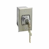 HBF-BC NEMA 1 Interior OPEN-CLOSE Best Cylinder or Equivalent Key Switch in Single Gang Back Box Flush Mount