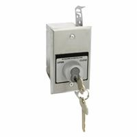 HBFT-BC NEMA 1 Interior Tamperproof OPEN-CLOSE Best Cylinder or Equivalent Key Switch in Single Gang Back Box Flush Mount