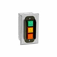 PBC-3 NEMA 1 Three Button Interior Flush Mount Control Station