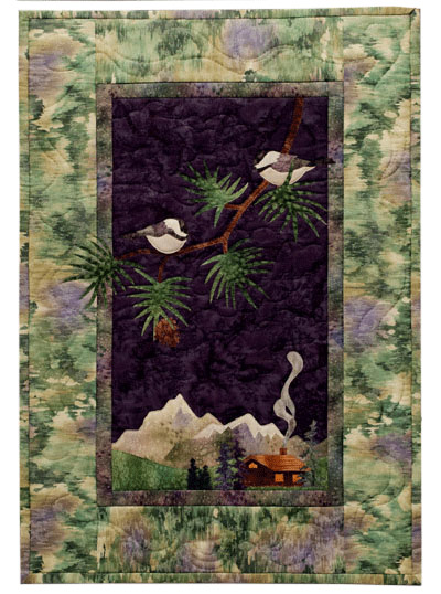 The Chickadees Applique Pattern