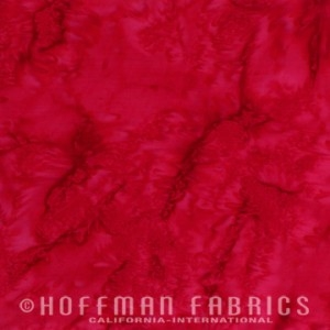 Hoffman Batik 1895-5 Red
