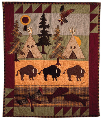 Buffalo Camp - Pattern only, cover no longer available
