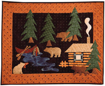 Camp Applique Pattern