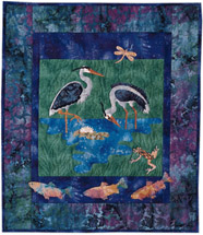 Heron Pond - Pattern only, cover no longer available