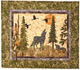 Wolf Watch Applique Pattern