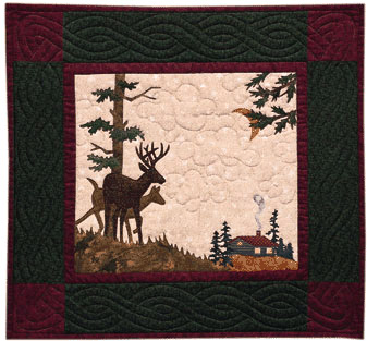 Deer Crossing - Pattern only, cover no longer available