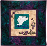 Swan Song Applique Pattern