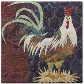Hit the Hay Applique Pattern