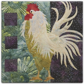 Struttin' Applique Pattern