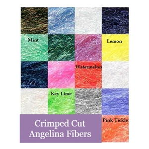 Crimped Cut Angelina Fibers