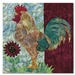 Quilt block of the moment before a rooster wakes up everyone in a 3 mile radius