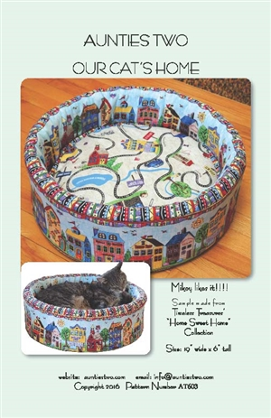 Our Cats Home Pattern by Aunties Two