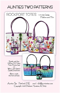 Rockport Tote pattern by Aunties Two