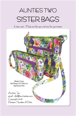 Sisters Bag Pattern by Aunties Two