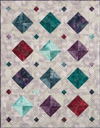 All That Glitters Pieced Quilt Pattern Instructions