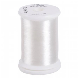 A spool of Aurifil Monofilament thread.