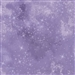 Star lacquer mottled screen print in medium purple.