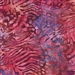 Lionfish pattern fabric in fuchsia and purple.