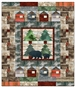 Bear Creek Cabins Pieced Quilt Pattern Instructions