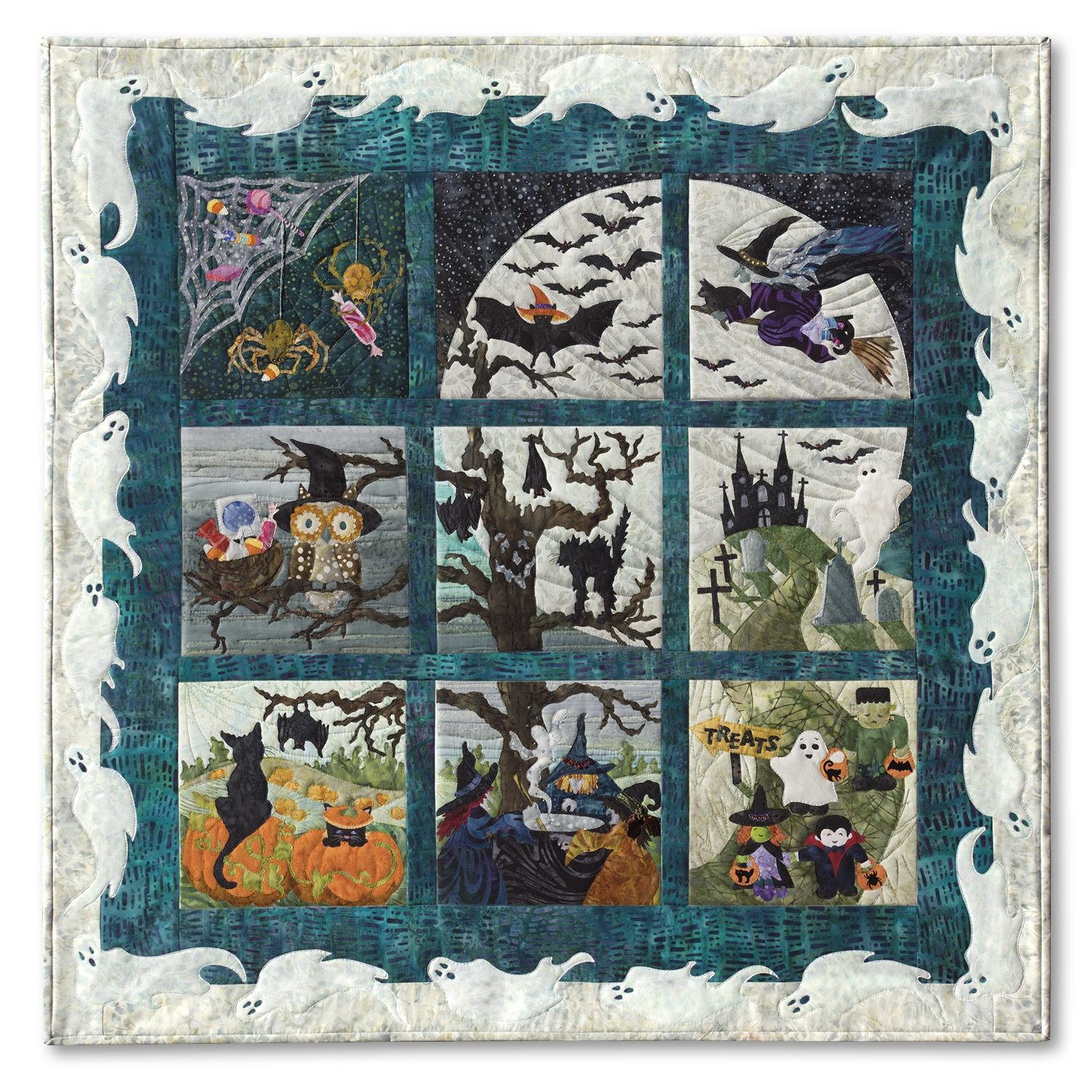 Halloweenies Complete Pattern Set : halloween quilt kits - Adamdwight.com