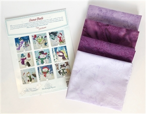 Fabric Kit with Panels for Fireplace Mantle Scarf