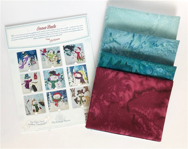 Fabric Kit with Panels for Wall Hanging